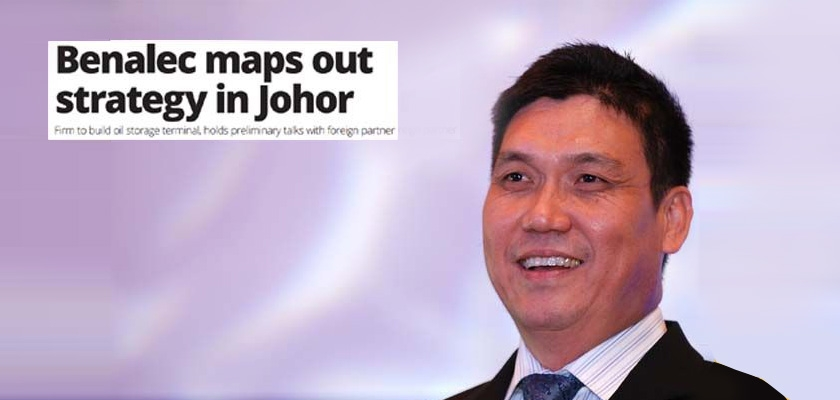 BENALEC MAPS OUT STRATEGY IN JOHOR | JUNE 27