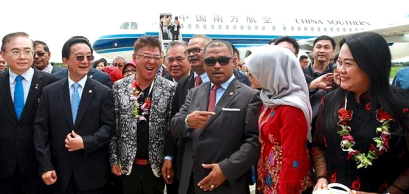 MALACCA AIRPORT BEGINS TAKING IN FLIGHTS FROM CHINA